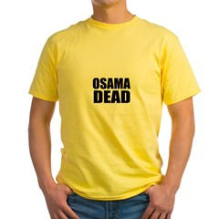 Osama Dead T-shirts & Buttons T