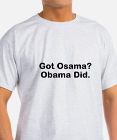Got Osama? Obama Did.