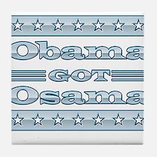 Obama dead killed Tile Coaster