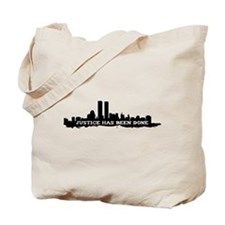 9-11 Justice Has Been Done Tote Bag