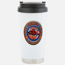 USCG Life Ring-Helo Stainless Steel Travel Mug