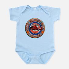 USCG Life Ring-Helo Infant Bodysuit
