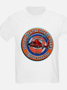 USCG Life Ring-Helo T-Shirt