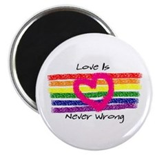 Love is never wrong Magnet