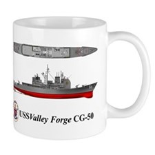 USS Valley Forge CG-50 Mug