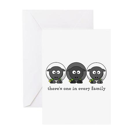 Black Sheep Greeting Card