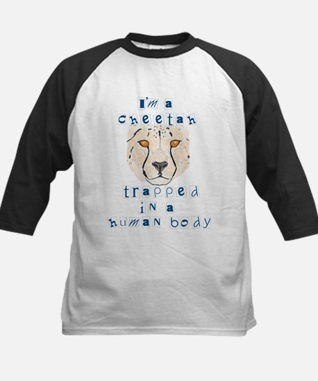 I'm a Cheetah Kids Baseball Jersey