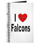 I Love Falcons Journal