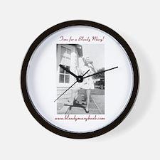 Cute Bloody Wall Clock