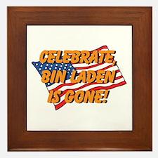 Celebrate Bin Laden Is Gone! Framed Tile