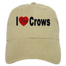I Love Crows Baseball Cap