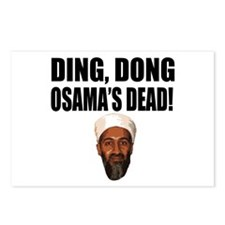 Ding Dong Osama's Dead Postcards (Package of 8)