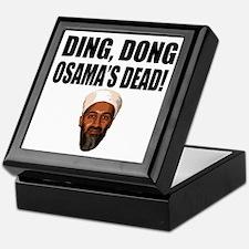 Ding Dong Osama's Dead Keepsake Box