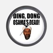 Ding Dong Osama's Dead Wall Clock