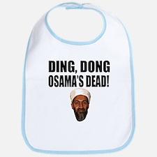 Ding Dong Osama's Dead Bib