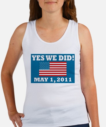 Yes We Did May 1 2011 Women's Tank Top