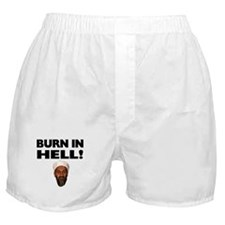 Burn in Hell Osama Boxer Shorts