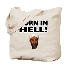 Burn in Hell Osama Tote Bag