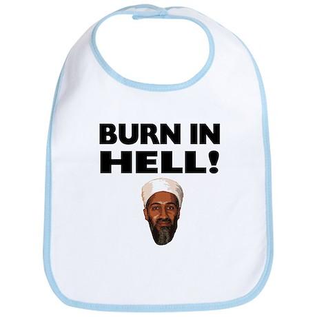 Burn in Hell Osama Bib