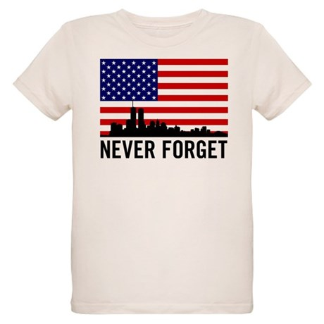 Never Forget Organic Kids T-Shirt