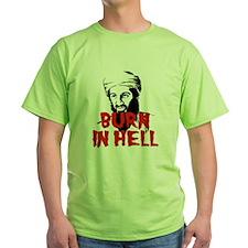 Burn in Hell Osama Bin Laden T-Shirt