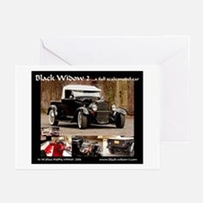 Unique Street rod Greeting Cards (Pk of 10)