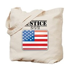 Justice May 1 2011 Tote Bag
