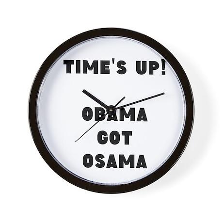 Obama got OsamaWall Clock
