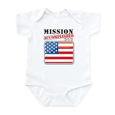 Mission Accomplished Infant Bodysuit