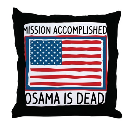 Osama Throw Pillow