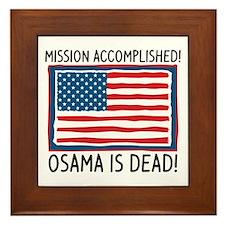 Osama Framed Tile