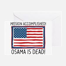 Osama Greeting Card