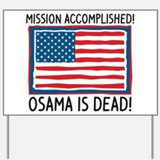 Osama Yard Sign