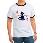Cats Playing Poker Ringer T