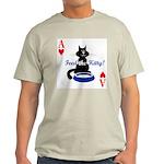 Cats Playing Poker Ash Grey T-Shirt