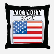 U.S. Victory May 1 2011 Throw Pillow