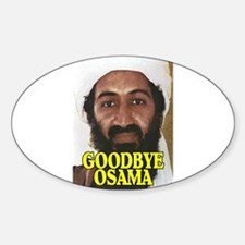 GOODBYE OSAMA Sticker (Oval)