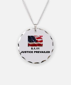 Justice Prevailed Necklace