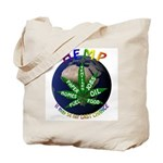 Hemp Planet Tote Bag