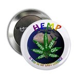 Hemp Planet Button