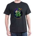 Hemp Planet Black T-Shirt