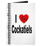 I Love Cockatiels Journal