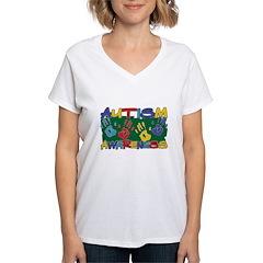 Autism Awareness Handprints Shirt