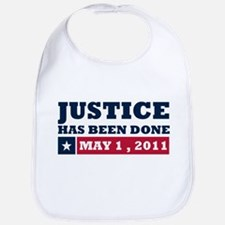 Justice Has Been Done Bib