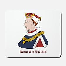 King Henry V of England Mousepad