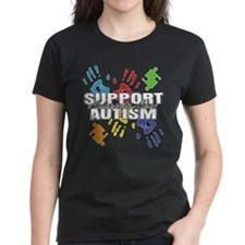 Support Autism Handprints Tee