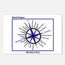 Bend Compass Postcards (Package of 8)