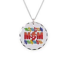 Autism Mom I Love My Child Necklace