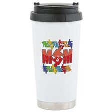 Autism Mom I Love My Child Travel Mug