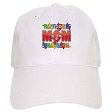 Autism Mom I Love My Child Baseball Cap